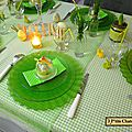 Table Pâques 2015
