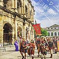 [Sortie] Les Grands <b>Jeux</b> <b>Romains</b> à Nîmes - Spartacus
