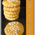 Tendres cookies vanille...