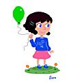 <b>Petite</b> <b>Fille</b> au Ballon