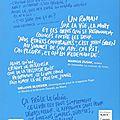 nos étoiles contraires 4e de couverture en Français