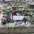 Légère insursion au cimetière <b>Montparnasse</b>