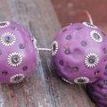 Tuto polymère : perles indiennes