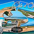 Carte postale #21 : Côte d'Opale (Pas-de-Calais)