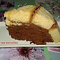 Dôme vanillé au chocolat-orange