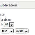 Comment publier un message à une autre date ?