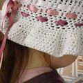 Chapeau crochet été 2009