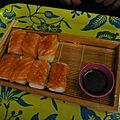 Sushi faits maison