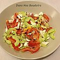 Idée recette: salade du moment / recipe of the day: current salad