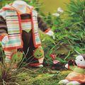 Catalogues et fiches pour tricoteuses Anny Blatt/Bouton D'Or