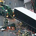 Autorités allemandes: l'attaque par un camion à berlin était un attentat