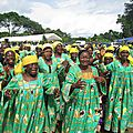 Lekie Women Celebrate New Infrastructure