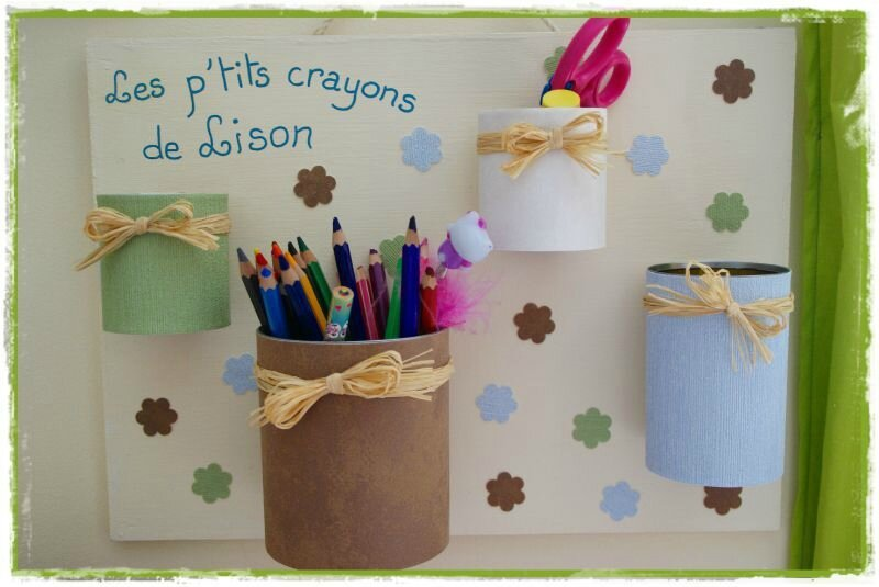 Pots à crayons