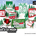 STAMPIN'UP CATALOGUE <b>SAISONNIER</b> AOUT-DECEMBRE