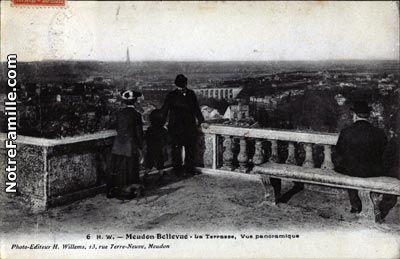 La terrasse de l'Observatoire avec vue sur Paris