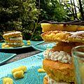 Petit gâteau monté à l'ananas et au mascarpone (comment finir les restes du frigo)