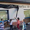 Argol : l'école publique au nom de charlez et chanig ar gall