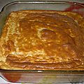 Gâteau de savoie aux pommes