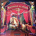 Livre personnalisé : bienvenue au cirque de chez unique editions
