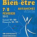 Salon du bien-etre #5 - avranches - samedi 7 et dimanche 8 février 2015