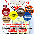Proposition de <b>manifestation</b> nationale le 6 octobre 2018