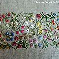 Broderie Mille et une fleurs Canevas Folies (1)
