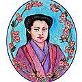Fleur de cerisier - sakura, nouvelle série d'aquarelles.