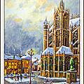 Par temps de neige ( <b>Metz</b> )