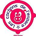 Les Cochonnets, ateliers enfants des <b>Cochons</b> de <b>l</b>'<b>Espace</b>