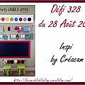 Défi 328 du 28 août 2017 - cartes de ciléa, scrapacrolles, batchaka, kinna, gribouillette et secret de lina, invitée d'honneur