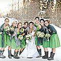 Planification d'un mariage hivernal formidable