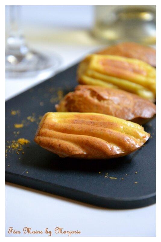 Madeleines Carottes Curry Comté D Zuddas