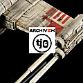 Xwing RED5 MPC Replica 1/43 - Concours <b>ArchiveX</b>