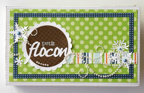 mini album petit flocon 001