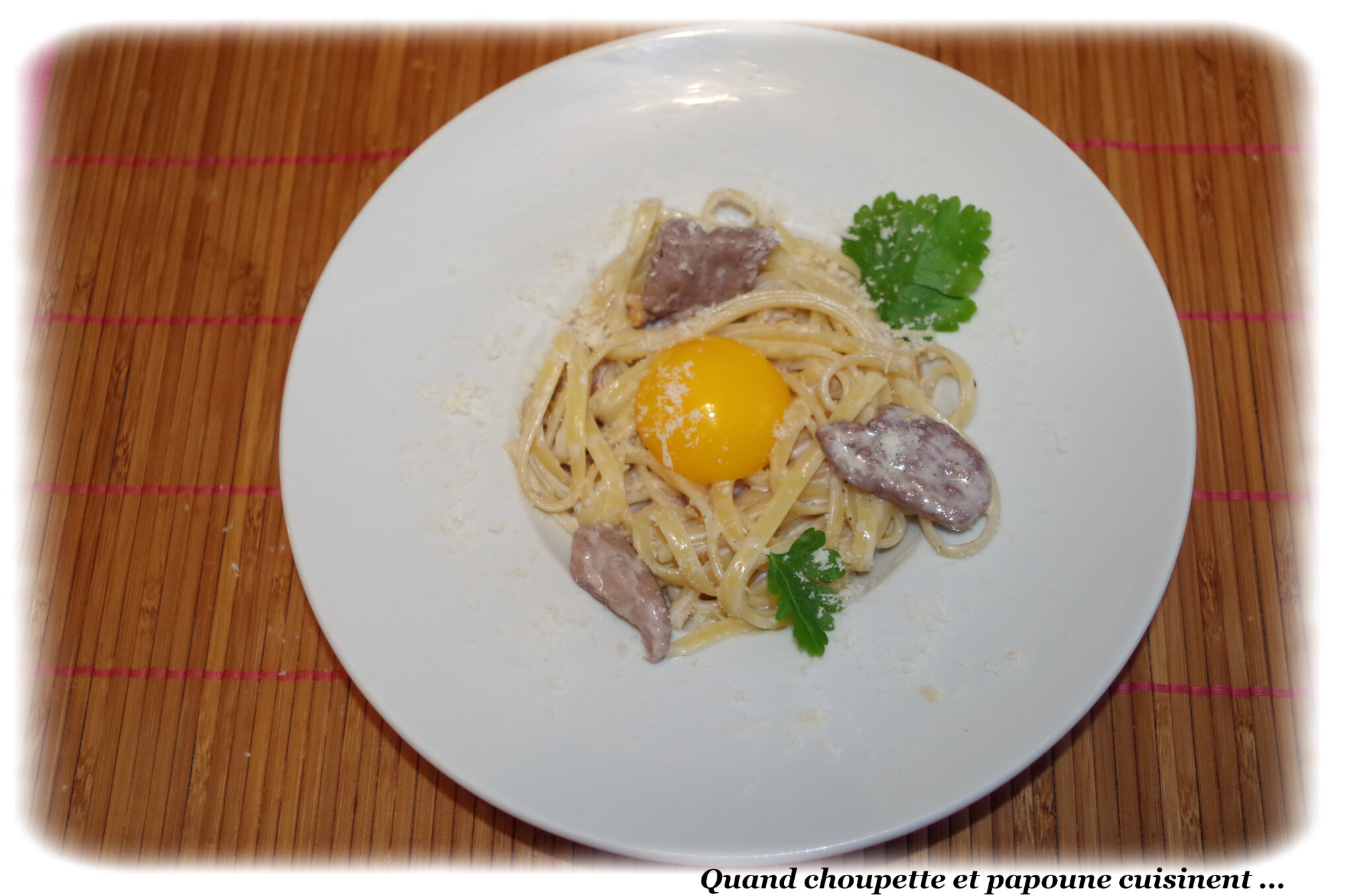 Filet de canard en carbonara quand choupette et papoune cuisinent - Difference entre filet et magret de canard ...