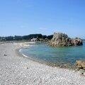 Plougrescant, pointe du Château, plage (22)