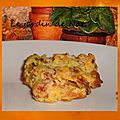 Cookies jambon/courgettes