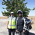 turquie photo avec la police locale