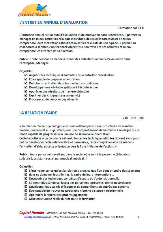 FORMATIONS CAPITAL HUMAIN-2017-2018-p9