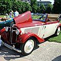 Adler trumph junior cabriolet de 1937 (37ème Internationales Oldtimer meeting de Baden-Baden) 01