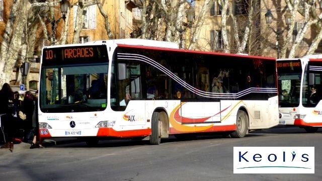 Aix en bus keolis