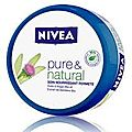 Gamme pure & natural de nivéa