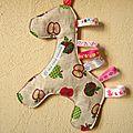 Cadeaux pour bébé surprise #6 le doudou-étiquettes
