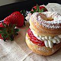 Paris brest à la fraise
