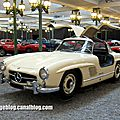 Mercedes 300 SL de 1955 (Cité de l'Automobile Collection Schlumpf à Mulhouse) 01