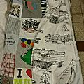 couverture patchwork tee shirt recup lilybouticlou