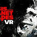 Jeux : crisis on the planet of the apes vous met dans la peau d'un singe via vr !