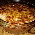 Macaroni au boeuf tomate gratiné