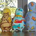 set de bowling en tissu jouets d'antan (4)