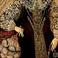 Queen <b>Elizabeth</b> <b>I</b> (detail), attributed to John the Younger Bettes, ca. 1590